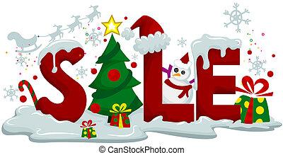 рождество, продажа