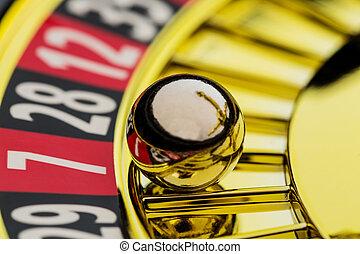 рулетка, игорный, в, , казино