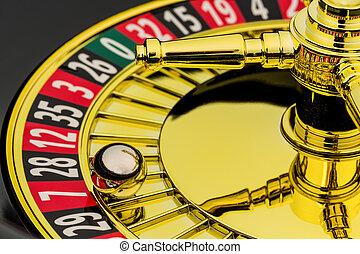 рулетка, игорный, казино