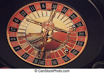 рулетка, казино, игра, toned, фото