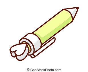 ручка, является, opend