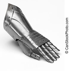 рыцарь, железо, перчатка