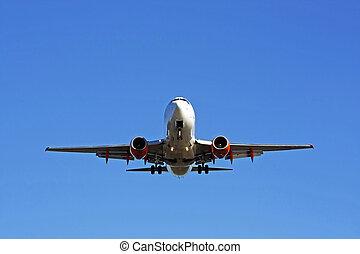 самолет, коммерческая