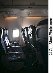 самолет, сиденье