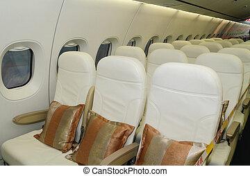 самолет, seats