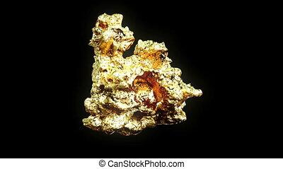 самородок, золотой