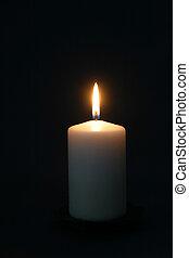 свеча, церковь