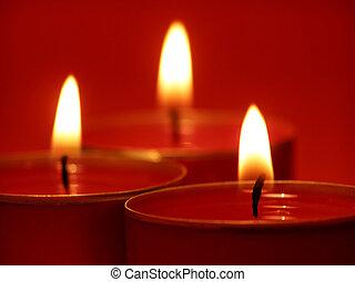 свеча, lights