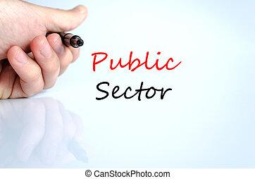сектор, текст, концепция, общественности