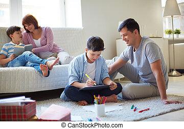 семья, досуг