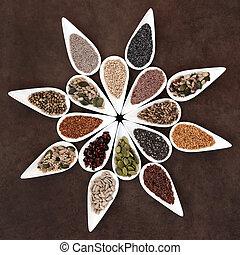 семя, питание, блюдо