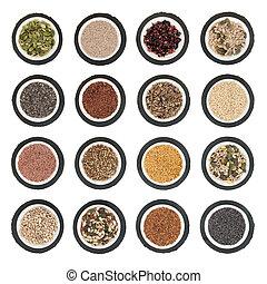 семя, питание, выбор