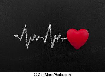 сердцебиение, классная доска