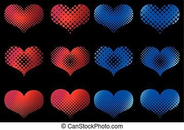 сердце, задавать