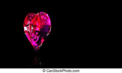 сердце, рубин