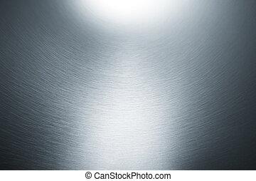 серебряный, задний план, металлический