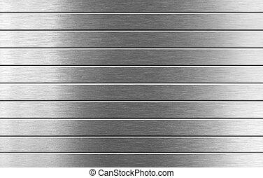 серебряный, металл, задний план
