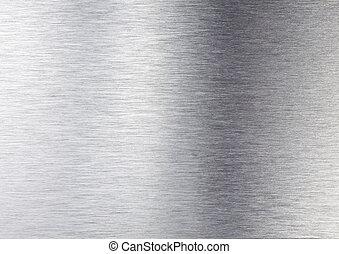 серебряный, металл, текстура
