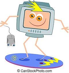 серфинг, интернет