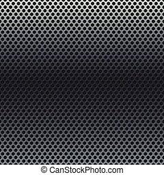 сетка, серебряный, задний план, металлический