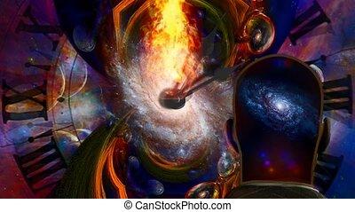 сжигание, вечность