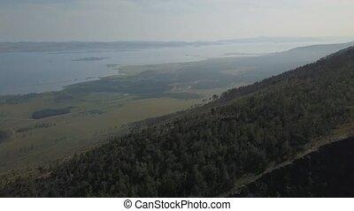 сибирь, посмотреть, байкал, озеро, долина, воздух, sarma