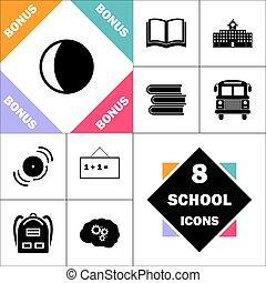 символ, компьютер, lunation
