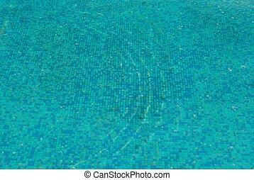 синий, воды, солнечно, surface.