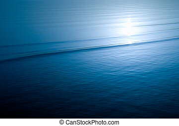 синий, воды, ripples