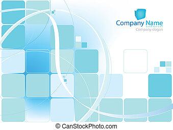 синий, задний план, абстрактные
