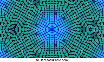 синий, концерт, background., место, спектр, дискотека, движение, lights, калейдоскопический, задний план, колба, фрактальный, design.