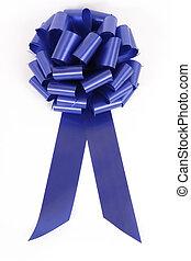 синий, лента