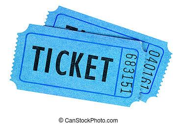 синий, участвовать в лотерее, кино, два, isolated,...