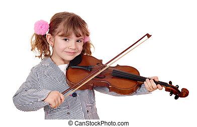 скрипач, немного, девушка