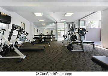 современное, гимнастический зал