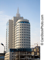 современное, buildings., офис