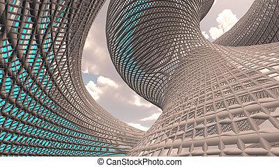 современный, архитектура