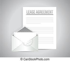 соглашение, документ, сдавать в аренду, бумага