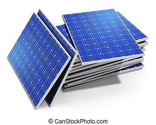 солнечный, panels