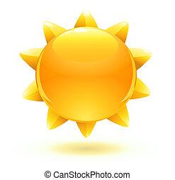 солнце, лето
