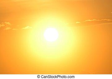 солнце, мощность