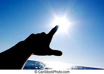 солнце, переключатель