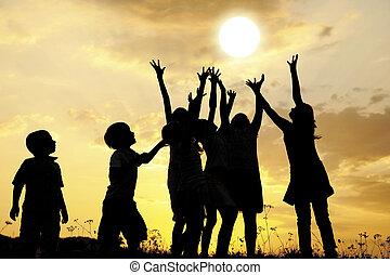 солнце, children