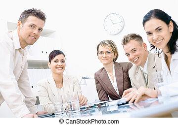 сотрудники, встреча