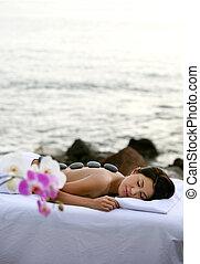 спа, на открытом воздухе, терапия