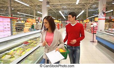 список, of, продукты