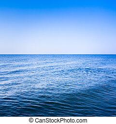 спокойный, море, океан