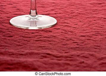 стакан, абстрактные, вино