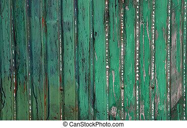 стали, зеленый, лист, задний план