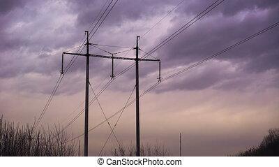 стали, подшипник, мощность, sky., против, taymlaps, cables